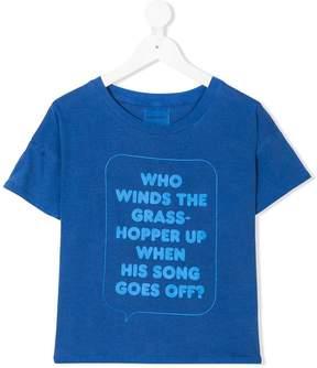 Bobo Choses text print T-shirt