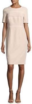 Basler Women's Short-Sleeve Zippered Dress