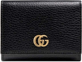 Gucci GG Marmont leather wallet - BLACK LEATHER - STYLE