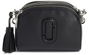 Marc Jacobs Small Shutter Leather Camera Bag - Black - BLACK - STYLE