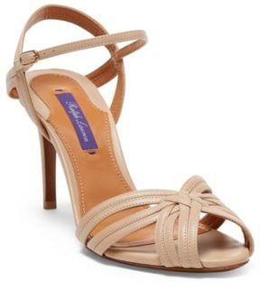 Ralph Lauren Astraia Nappa Leather Sandal Sand 36.5