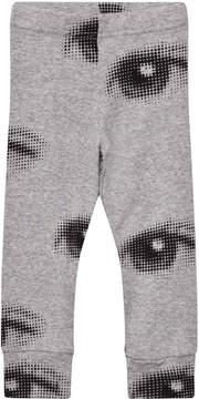 Nununu Heather Grey Eye Print Leggings