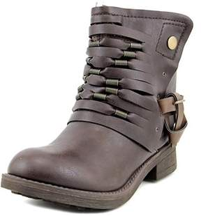 Coolway Baru Round Toe Leather Ankle Boot.