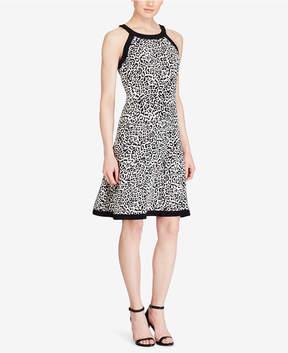 American Living Polka-Dot Jersey Dress