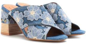 See by Chloe Denim sandals