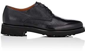 Doucal's Men's Grained Leather Bluchers