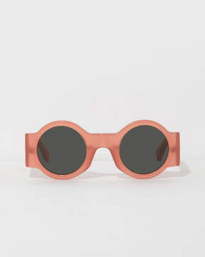 Dries Van Noten Peach Form Sunglasses