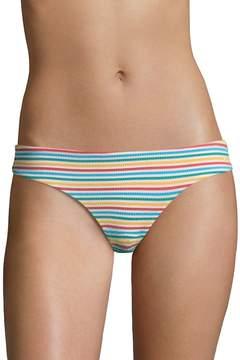 Onia Women's Seersucker Lilly Bikini Bottoms