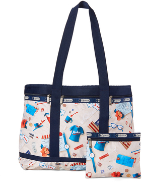 Le Sport Sac Secret Vacation Travel Tote & Pouch