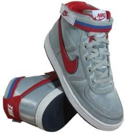 Nike Ah5253-002 Grade School Vandal High Supreme (Gs Metallic Silver Red