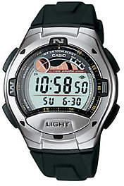 Casio Men's Casual Black Sports Watch