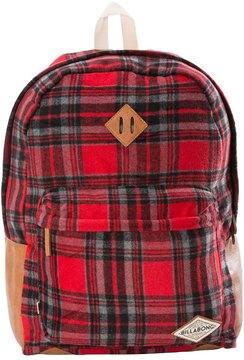 Billabong Hidden Trek Plaid Backpack 8149887