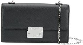 Emporio Armani classic buckled shoulder bag