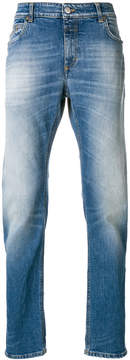 Closed wash effect jeans