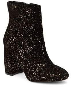 Nanette Lepore Nanette By Lilly Sparkle Suede Booties