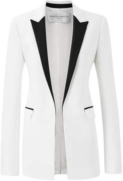 Amanda Wakeley Kashino White Tux Jacket