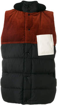 Marni padded patch gilet