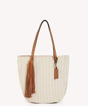 Sole Society Honey Tote Vegan Tassel Tote