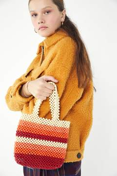 Urban Outfitters Beaded Mini Tote Bag