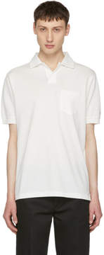 Paul Smith Off-White Pique Polo