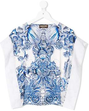 Roberto Cavalli baroque print tunic