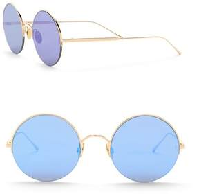 Cat Eye SUNDAY SOMEWHERE Raine 53mm Round Sunglasses