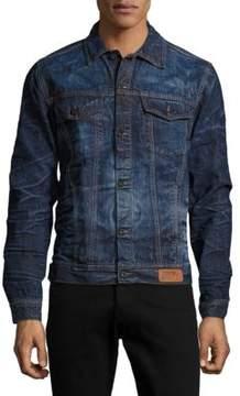 PRPS Button-Down Denim Jacket