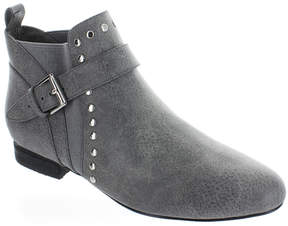 Restricted Gray Pablo Rivet Detail Ankle Boot