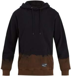 Marcelo Burlon County of Milan Tie-dye hooded cotton-jersey sweatshirt