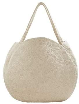 MANGO Round shopper bag