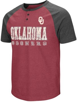 Colosseum Men's Campus Heritage Oklahoma Sooners Spotter Henley