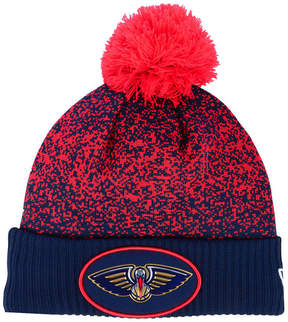 New Era New Orleans Pelicans On-Court Collection Pom Knit Hat