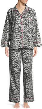 BedHead Wild Kingdom Classic Pajama Set, Gray Pattern