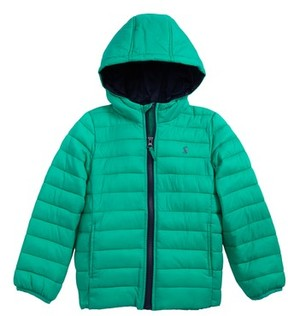 Joules Toddler Boy's Packaway Hooded Coat