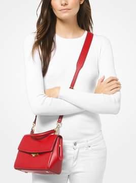 MICHAEL Michael Kors Ava Small Leather Satchel