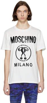 Moschino White Logo T-Shirt