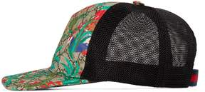 Gucci Children's GG Supreme animal faces hat