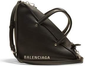 Balenciaga Triangle Duffle S Bag - Womens - Black White
