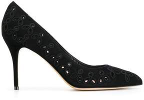 Oscar de la Renta embellished stiletto pumps