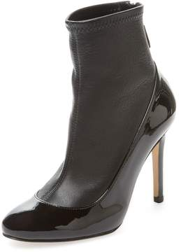 LK Bennett L.K.Bennett Women's Kylie Leather Ankle Bootie