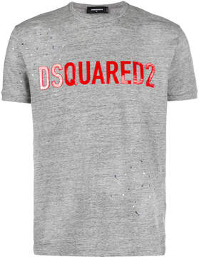 DSQUARED2 logo applique T-shirt