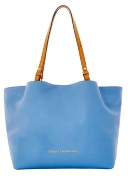 Dooney & Bourke City Flynn Shoulder Bag. - BLUE - STYLE