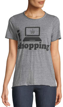 Chaser I Heart Shopping Graphic Tee