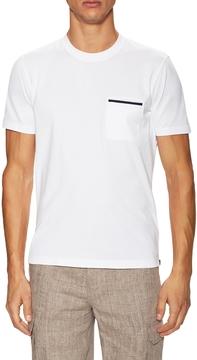 Brunello Cucinelli Men's Patch Crewneck T-Shirt