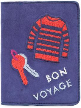 Lizzie Fortunato Jewels 'Bon Voyage' passport case