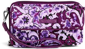 Vera Bradley Lilac Paisley RFID All in One Crossbody Bag - LILAC - STYLE