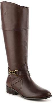 Lauren Ralph Lauren Women's Men'sna Wide Calf Riding Boot