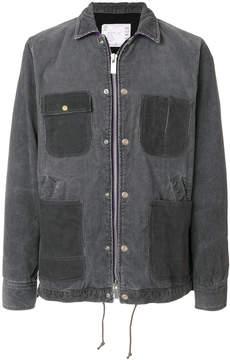 Sacai patch pocket zipped jacket