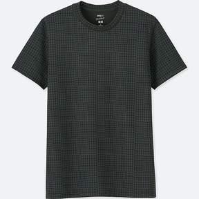 Uniqlo Men's Sprz Ny Dry-ex Short-sleeve Graphic T-Shirt (francois Morellet)