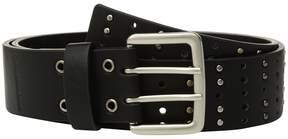 Calvin Klein Flat Strap Belt w/ Multi Finish Studs Women's Belts